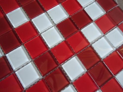 pastilha de vidro mix - 100% vidro cristal - promoção