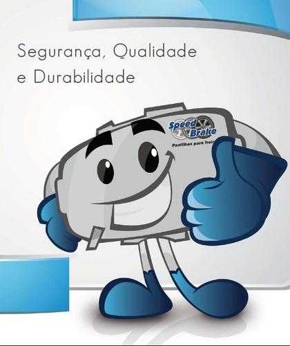 pastilha dianteira speedbrake gol parati saveiro 97/09 235
