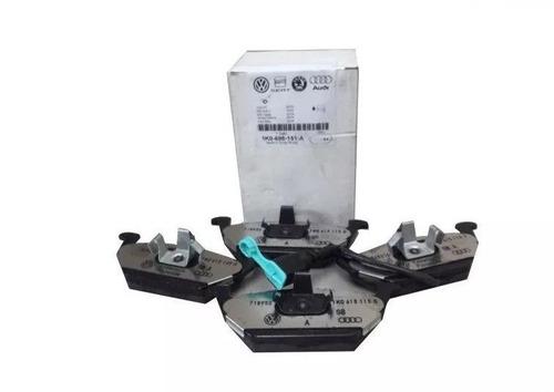 pastilha freio diant c/ sensor jetta fusca audi 1k0698151a +