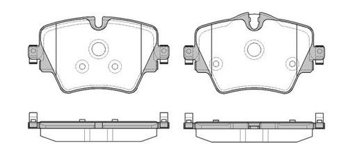 pastilha freio dianteira bmw 220i x1 após 2015 f48 20i 25i
