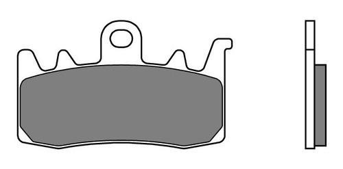 pastilha freio dianteira bmw r1200 gs 13 a 15 sinterizada