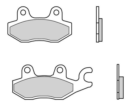 pastilha freio dianteira e traseira kawasaki z300 cerâmica