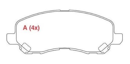 pastilha freio dianteira e traseira lancer gt 2012