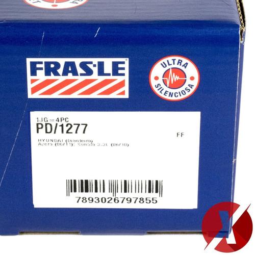 pastilha freio dianteira fras-le pd/1277 sonata 3.3 v6 2008