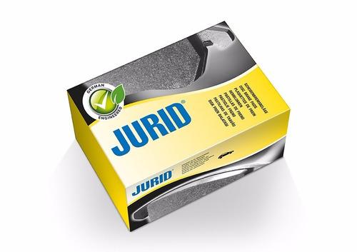 pastilha freio dianteira peugeot 207 1.4 01/08 jurid hqj2240