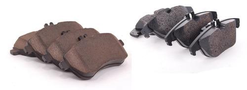 pastilha freio dianteira + traseira mercedes c180 08-15