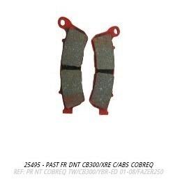 pastilha freio dianteiro cb300 e xre300 com abs