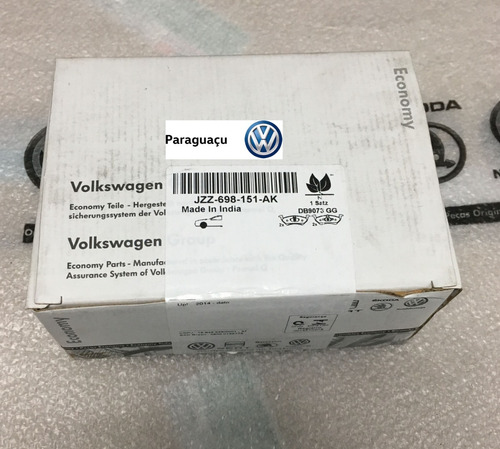 pastilha freio economy up  2014/2017 original vw