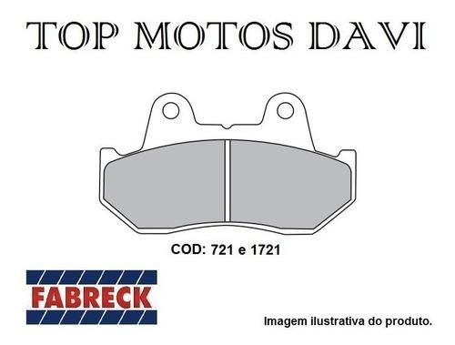 pastilha freio fabreck honda cbx 750 f traseira - 3568