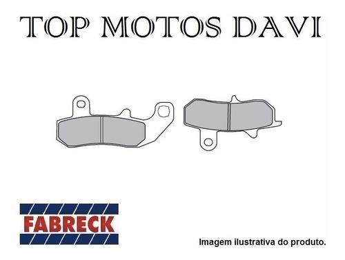pastilha freio fabreck suzuki dr 650 90/96 traseiro