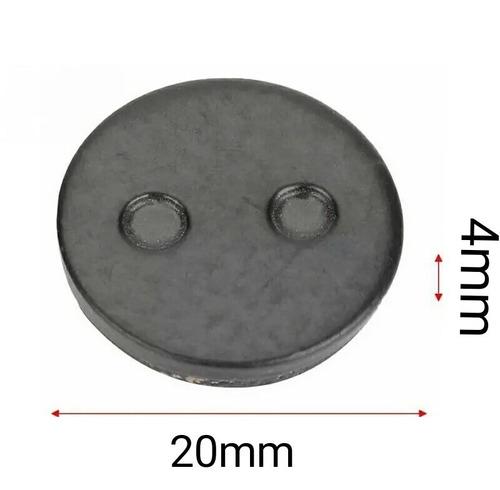 pastilha freio patinete eletrico m365 redonda