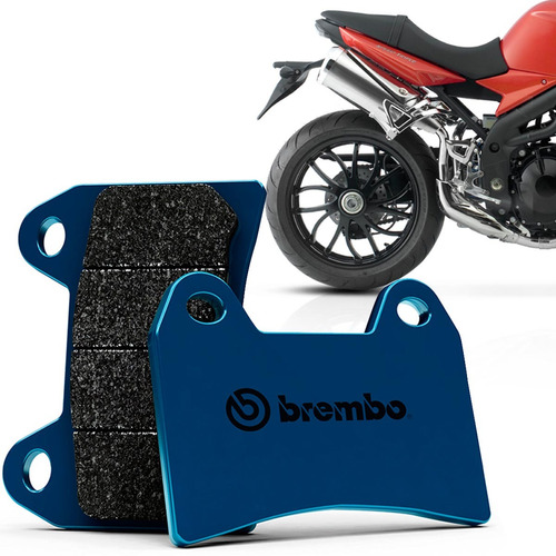pastilha freio tras triumph speed triple 1050 05 15 carbono