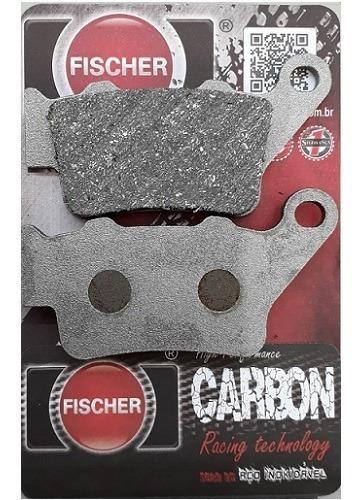 pastilha freio traseira fischer cb 500/xt660/mt03 bmw f650 g