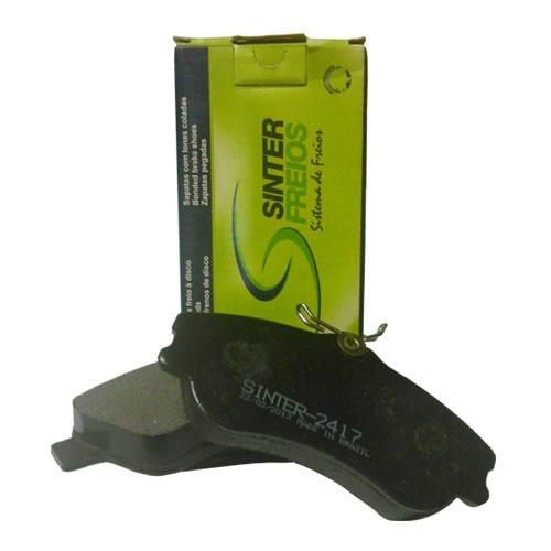 pastilha freios sinter- civic:2005a2006
