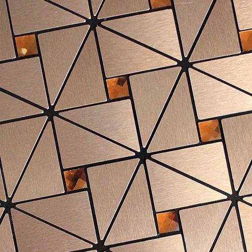pastilhas adesivas parede metalizada dourada 30cmx30cm d47