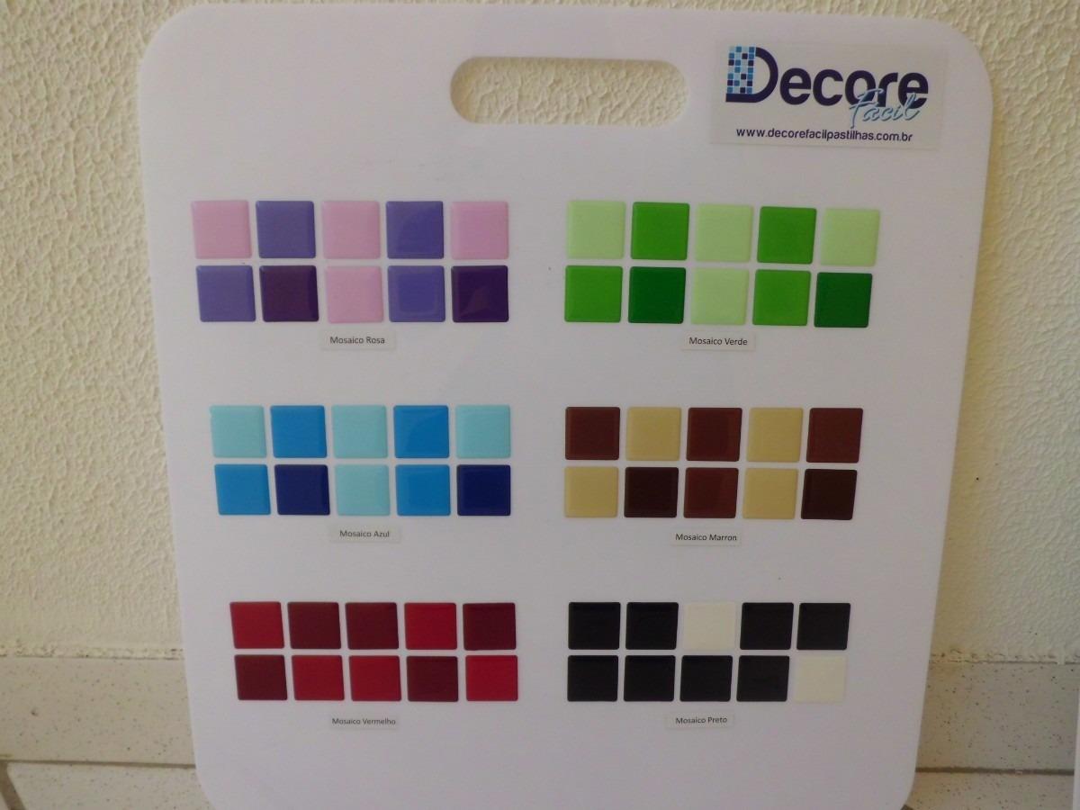 #186595  Resinadas Mosaicos Aplique Você Mesmo R$ 9 50 em Mercado Livre 1200x900 px papel de parede para banheiro mercado livre