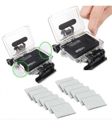 pastilhas anti embaçante fog gopro hero sjcam cameras