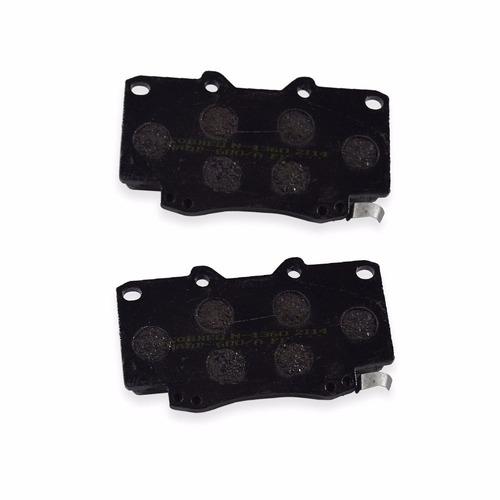pastilhas de freio dianteira hilux - cobreq n-1360