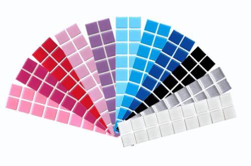 pastilhas resinadas adesivas- faça você mesmo-vidro,azulejo