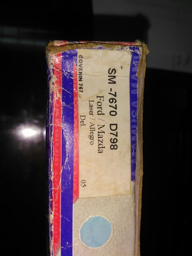 pastilla de freno ford láser / mazda allegro delantero