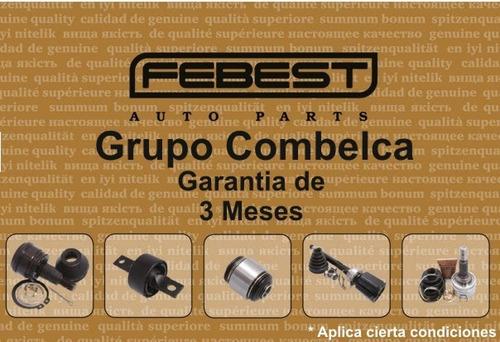 pastilla de frenos delantero  nissan tiida  c11  febest