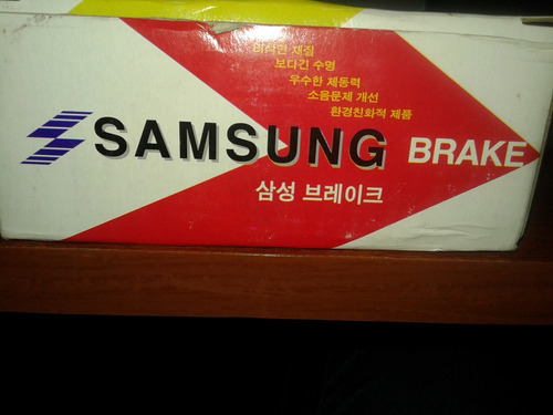 pastilla de frenos tras leganza-nubia koreano