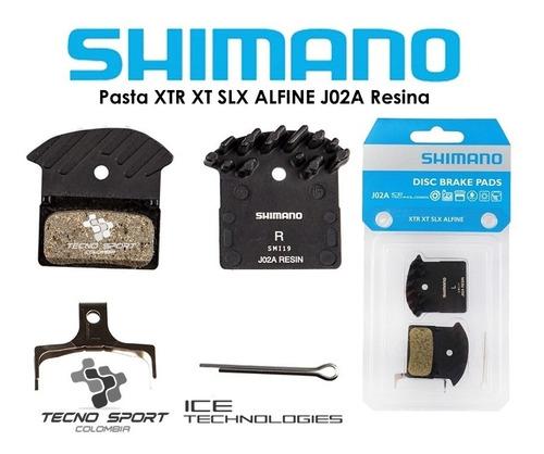 pastilla freno shimano j02a xtr xt slx alfine refrigerada