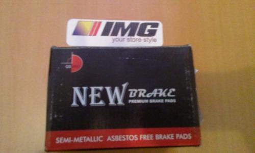 pastilla freno vitara delantera 4x2 92/98 new brake