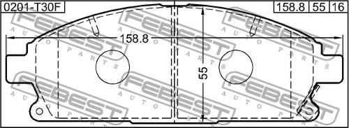 pastilla frenos delantera nissan xtrail t30 pathfinder  r50