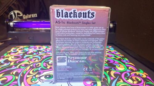 pastilla marca seymour duncan blackouts single set