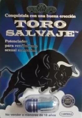 pastilla toro salvaje mayor rendimiento sexual erección