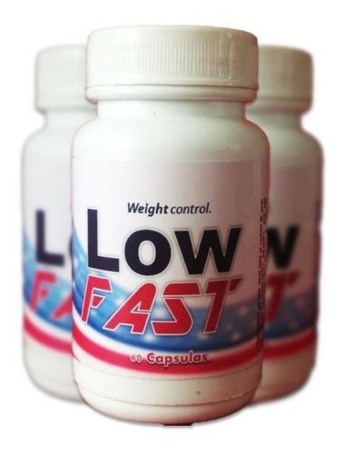 pastillas adelgazantes para hombres low fast 3x2