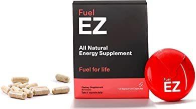pastillas de cafeína fuelez para una energía suave durante