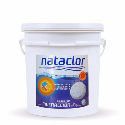 pastillas de cloro multiacción nataclor 10 kg oferta