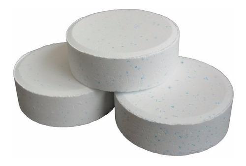 pastillas de cloro multifunción ( triple acción ) x 5 kilos