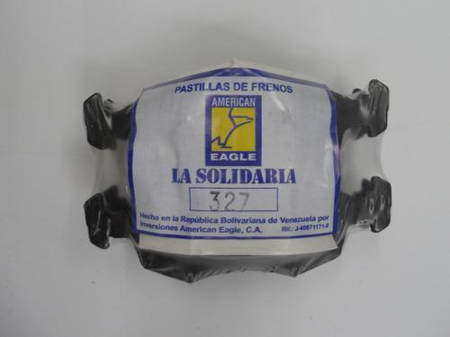 pastillas de freno american eagle 327 fiat palio/idea 1.8