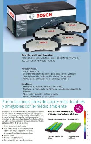 pastillas de freno bosch ceramico - toyota corolla brasilero