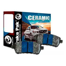 Pastillas De Freno Brakepak Ford Fiesta (delanteras)