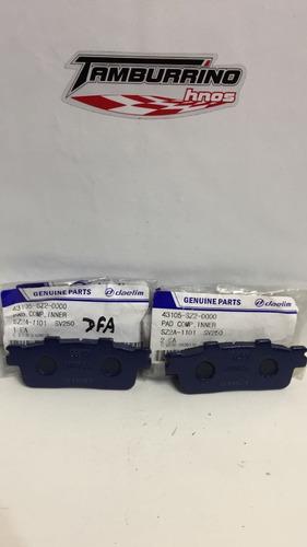 pastillas de freno daelim sv250 original - tamburrino hnos