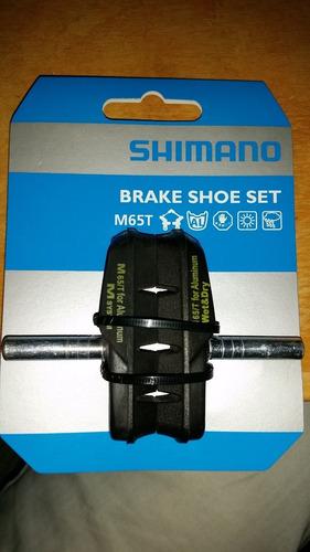 pastillas de freno de bicicleta shimano m65t