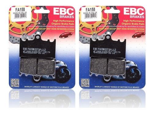 pastillas de freno ebc delanteras kawa zx 600 e (zzr 600)