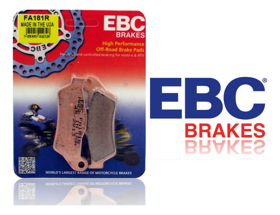 EBC FA447HH x2 Brake Pads for Suzuki GSX-S 1000 F 15-16