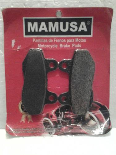 pastillas de freno  mamusa para moto modelo: 1158/fa86
