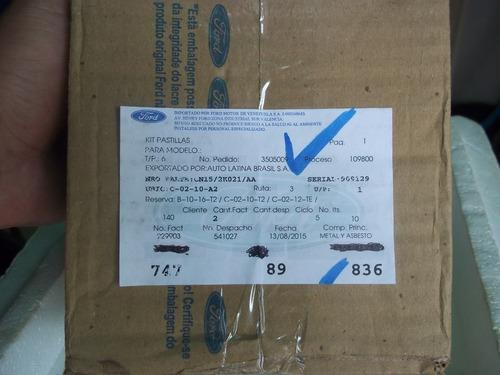 pastillas de frenos delanteras ecosport titanium