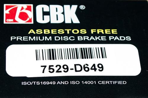 pastillas de frenos kia sephia 7529cbk