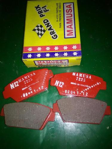 pastillas de frenos mitsubishi mf,  eclipse, galand, mf.