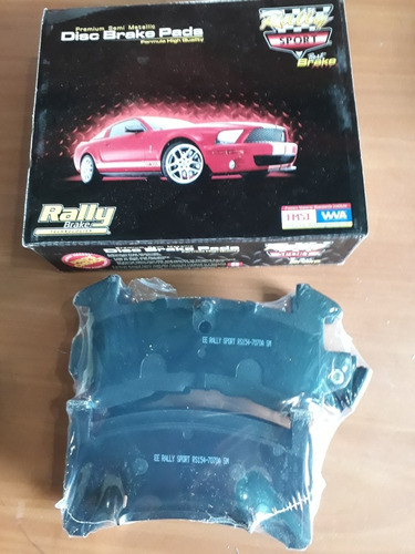 pastillas de frenos rally sport #7070 malibu 78-83 blazer 90