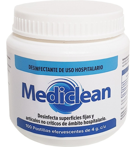 pastillas desinfectantes efervescentes para generar hcio
