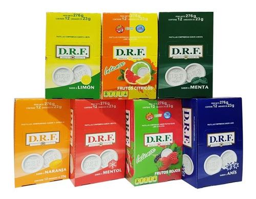 pastillas drf  (promo pack x 12un) - barata la golosineria