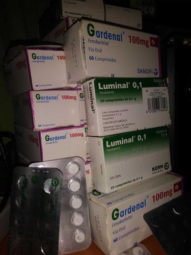 pastillas fenobarbital 100mg en blister o caja